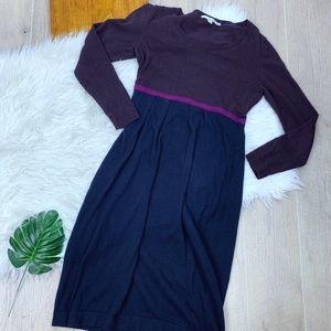 Boden Dresses - Biden | Purple & Blue Knit Dress | 2465